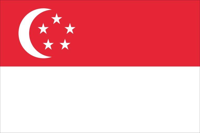 Флаг Сингапура-Виза в Сингапур